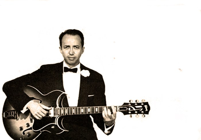 Barney Kessel - part of the Summit meeting.