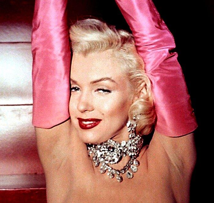 "Marilyn Monroe in Gentlemen Prefer Blondes - the review called it ""pleasant nonsense"""