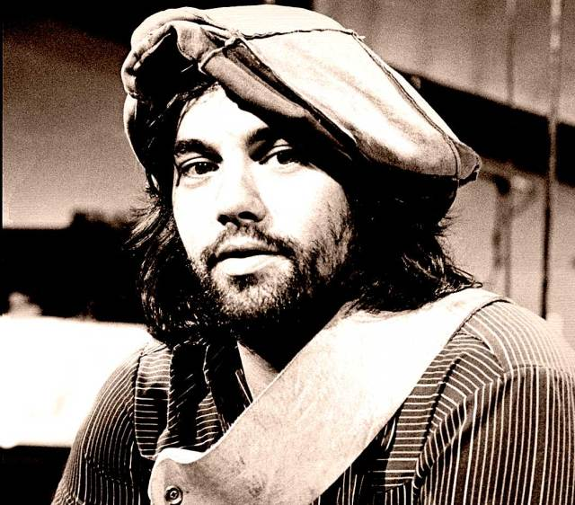 With the inimitable Lowell George.