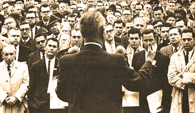 LBJ - Giving a mid-year review. So far - so good. But just around the corner . . .