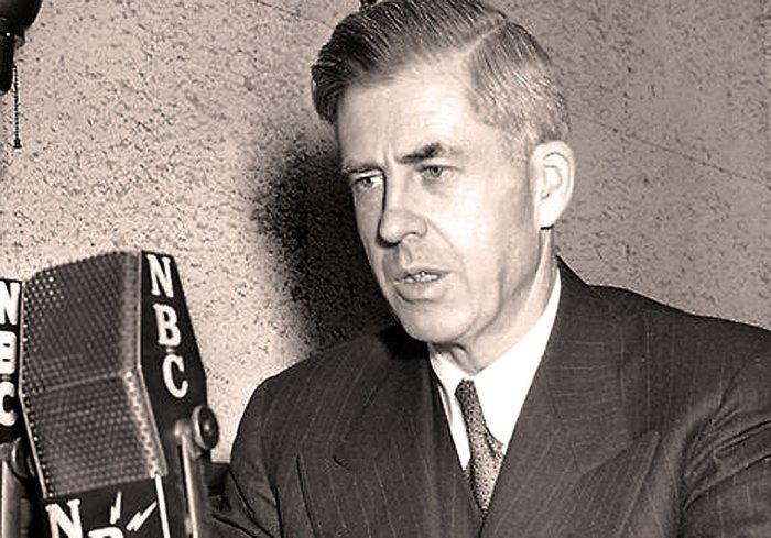 Former vice-President under FDR - became a Progressive in 1948. Left an impression.