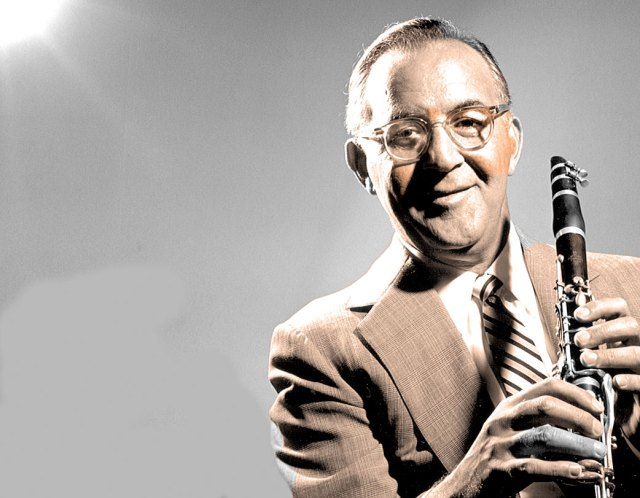 Benny Goodman - in the heyday of Big Bands - dubbed The King Of Swing.