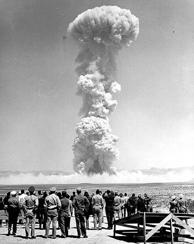 Was there a peaceful use for Atomic energy? Or was that it?