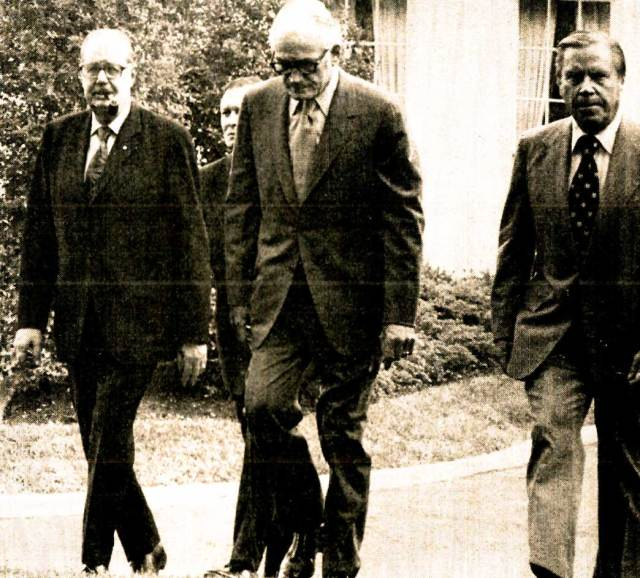 Scott, Goldwater and Rhodes - they protested way too much.