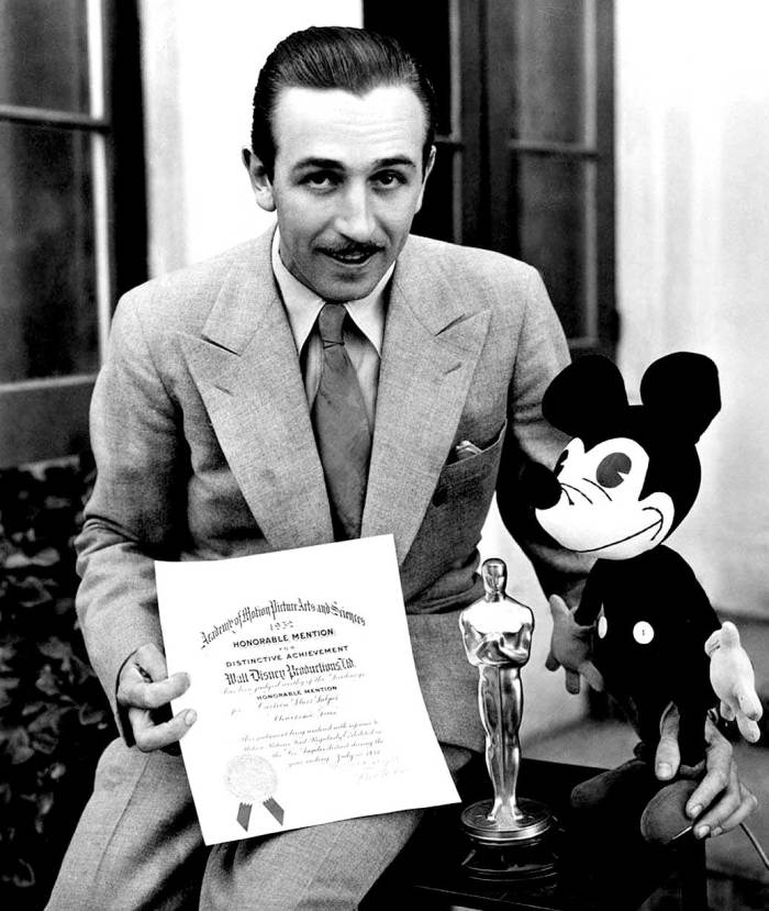 Walt Disney and Mickey - A Man and his Mouse.