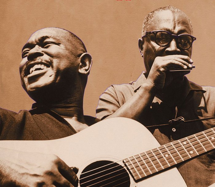 Brownie McGhee and Sonny Terry - Solid fixtures on the L.A.Folk scene in the 1950s