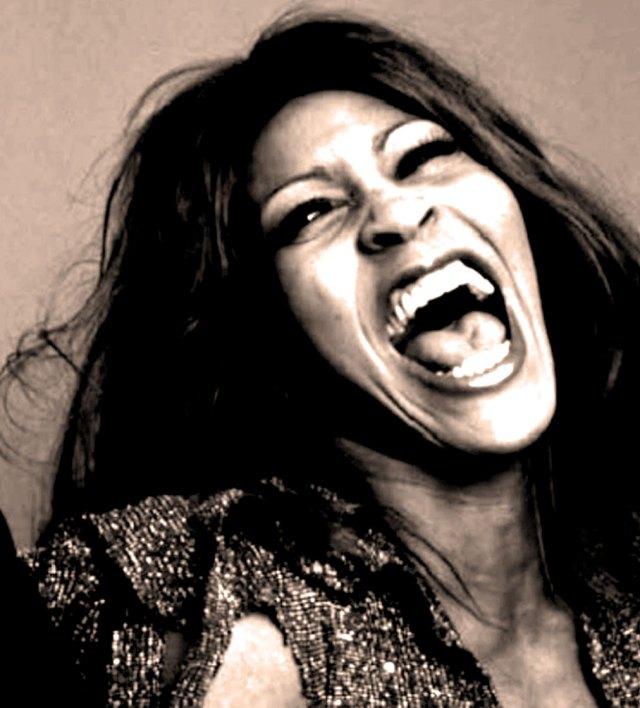 Tina Turner - explosive.