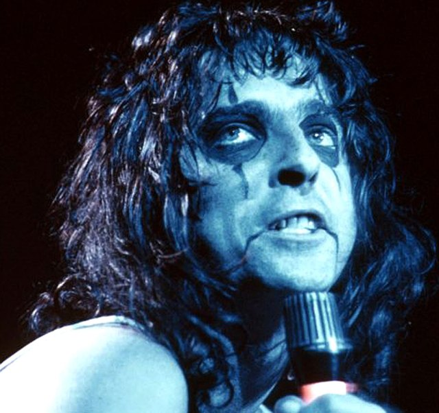 Alice Cooper - it just wouldn't be Halloween without him.