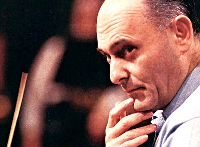 Sir Georg Solti - kicking off the 1983-1984 season with a World Premier.