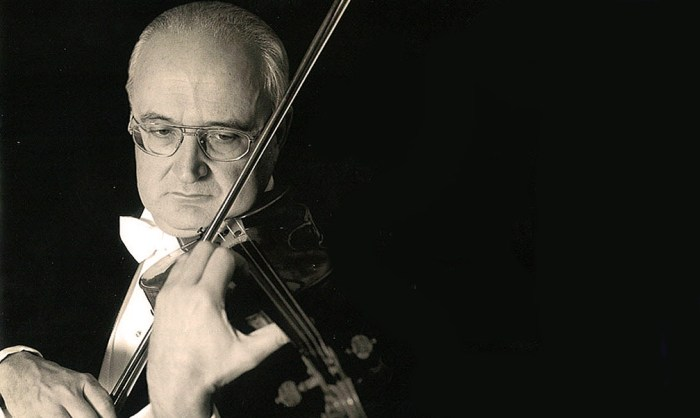 Salvatore Accardo - Stravinsky and Ravel this week.