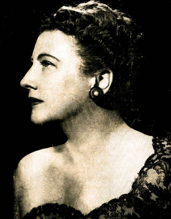 Legendary Opera star - but her nightclub appearances were no small potatoes.