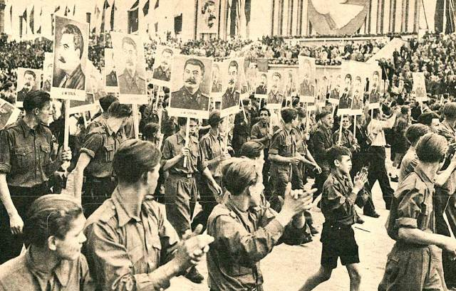 Youth behind Iron Curtain