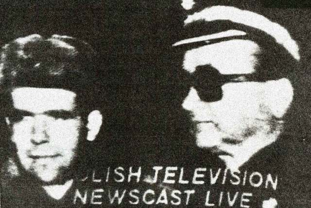 January 12, 1982 - Polish TV newscast