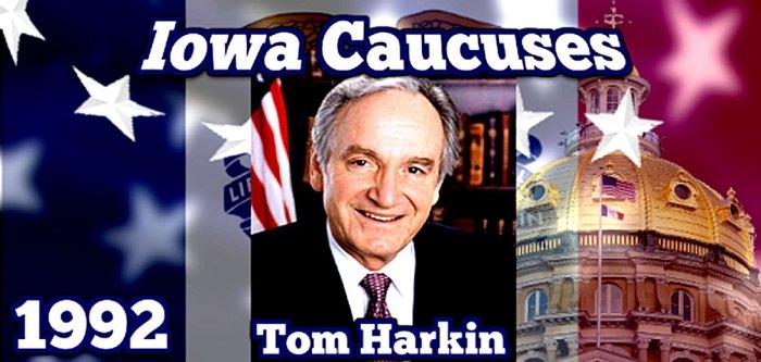 February 10, 1992 - Iowa Caucuses
