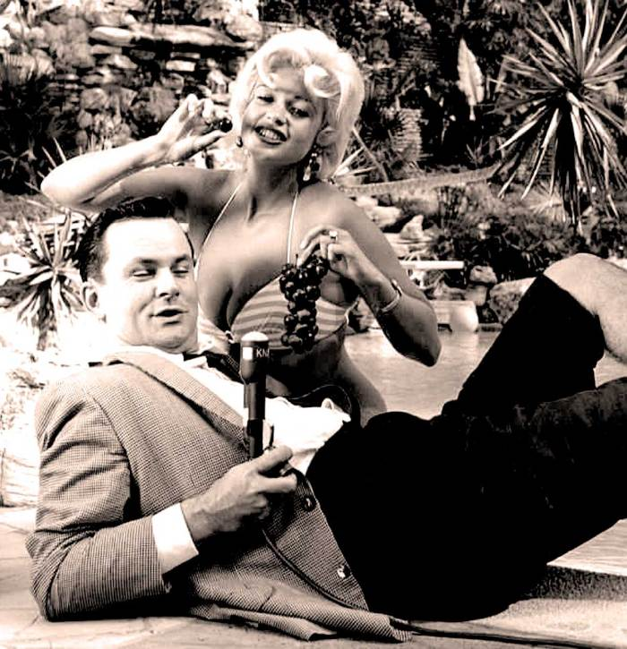 Bob Crane and Jayne Mansfield - Before Hogan's Heroes - Bob Crane as a fixture in Morning Radio in Los Angeles in the 1950s and early 60s.
