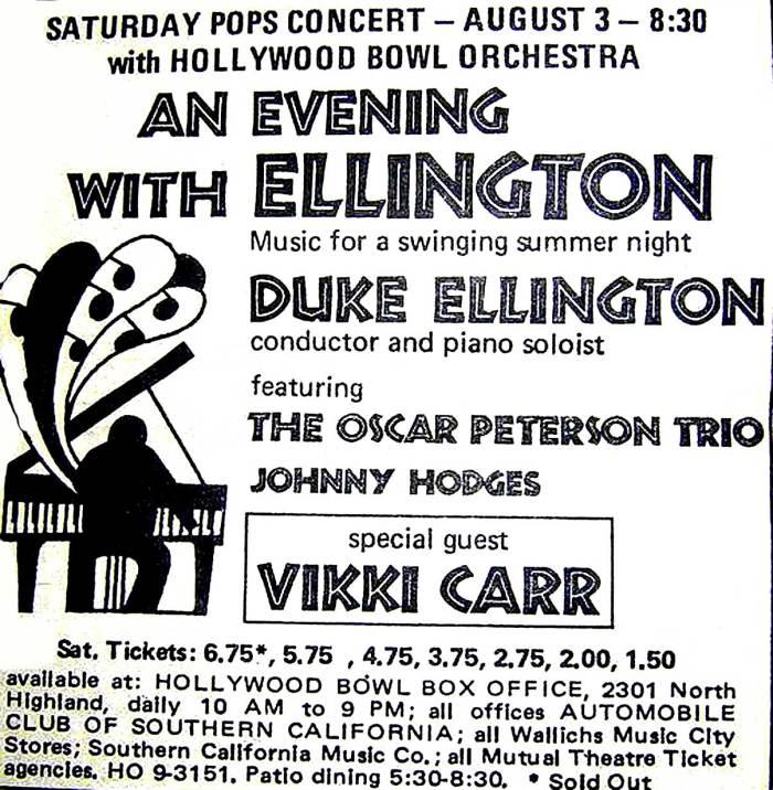 Duke Ellington At The Bowl 1968