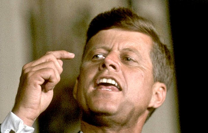 JFK - This was the new Frontier