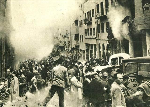 Terrorist Bombings in Palestine