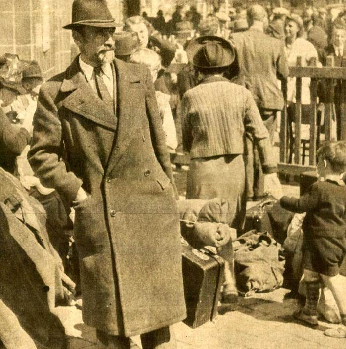 French refugees