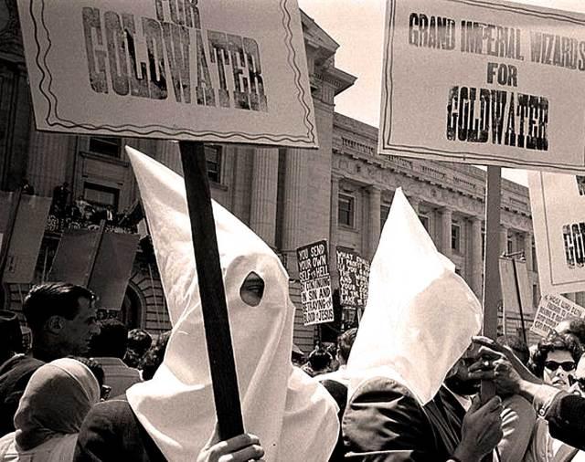 KKK Demonstration - 1964 Republican Convention