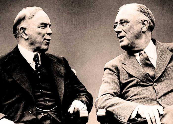 FDR and MacKenzie King - 1943