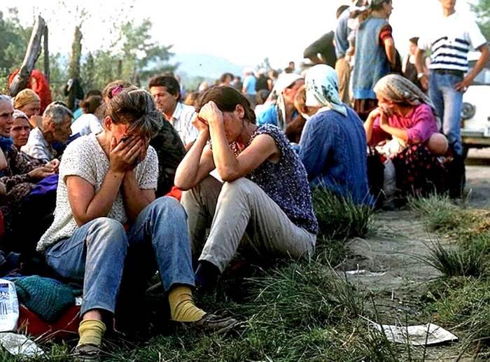 Bosnia - refugees 1995