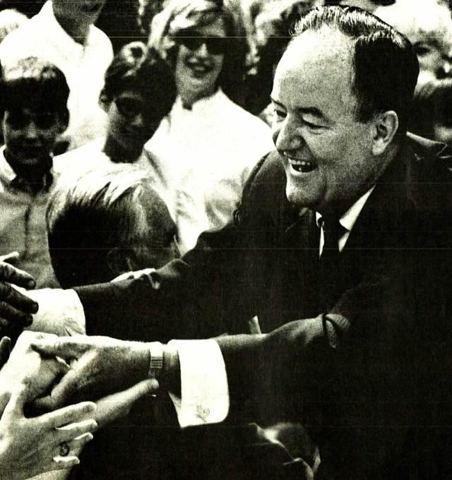 Vice-President Hubert Humphrey
