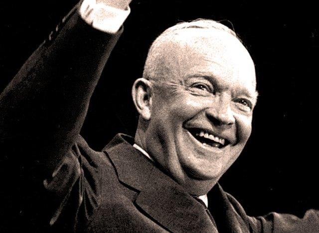 President Eisenhower - 1956