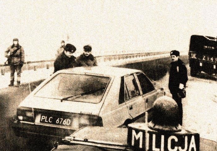 Polish Border Checkpoint - December 1981