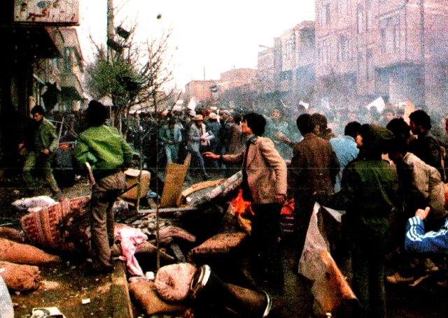 Tabriz demonstrations 1980