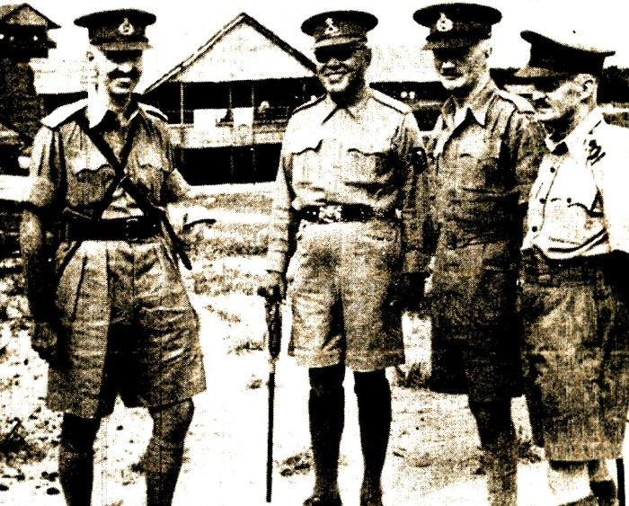 Gen. Perceval - Singapore defense.