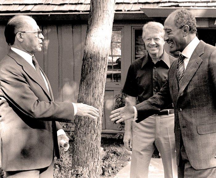 Carter-Sadat-Begin - Camp David 1978