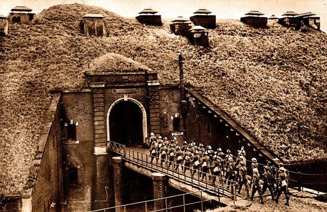 British Troops - Maginot Line
