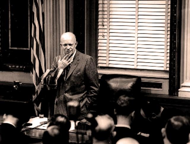 President Eisenhower Press Conference