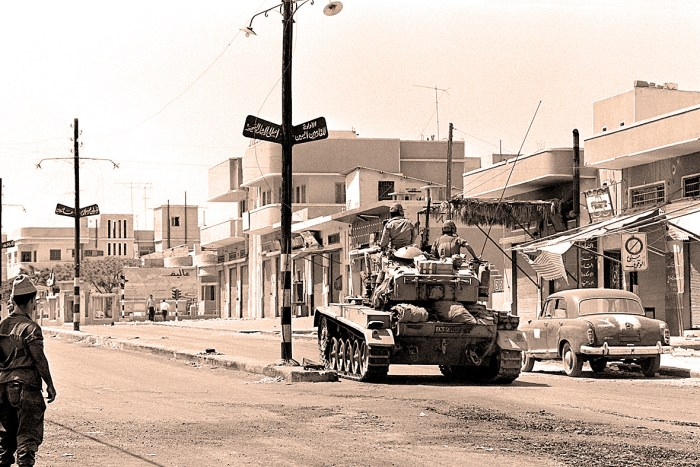 The Six Day War - June 1967