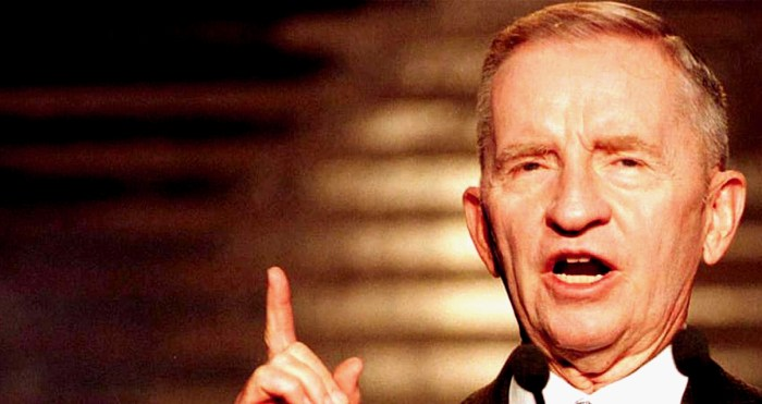Ross Perot - No to 1992