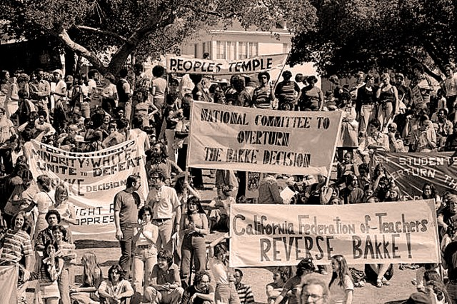 Bakke Case - protests