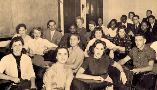 Teenagers In Philadelphia 1957
