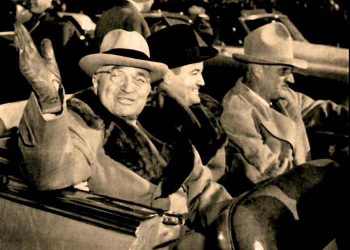 President Trumen (with Sen. Hubert Humphrey) - 1949
