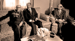 Begin - Sadat - Dayan - Ismailia conference
