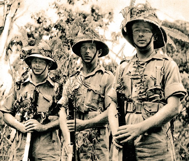 British Troops in Singapore