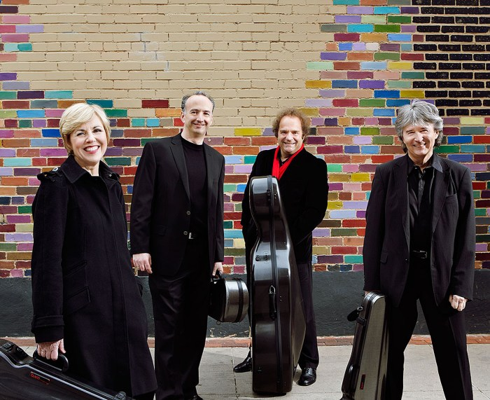 The Takacs Quartet in concert