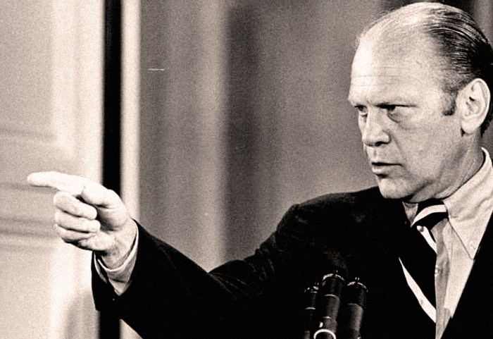President Ford - News Conf.