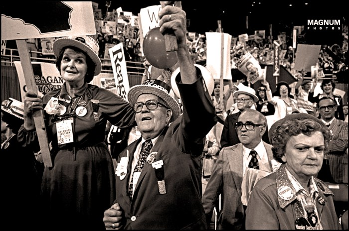 GOP Convention - Detroit - 1980 (Magnum Photos)