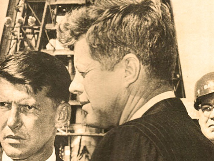 JFK - With Wally Schirra - NASA 1962