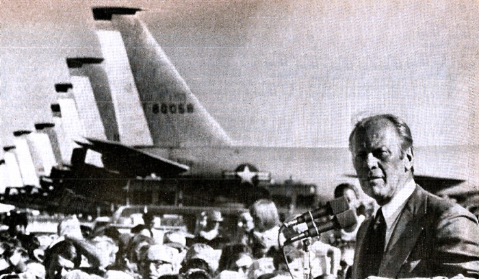President Ford Campaigning - September 1976