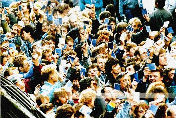 East German Refugees In Prague - 1989 (AP Photo)