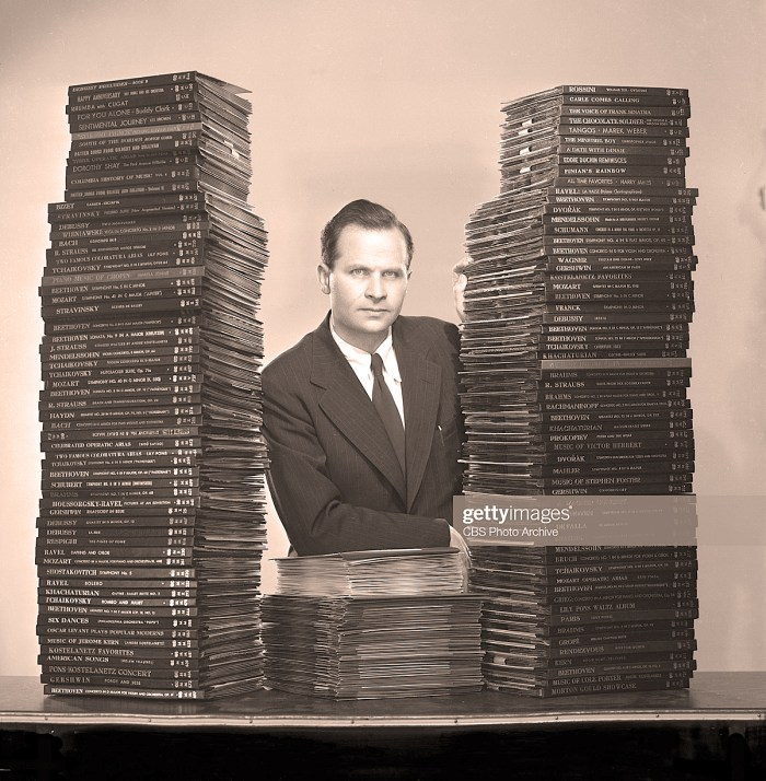 Dr. Peter Goldmark and lps versus 78s