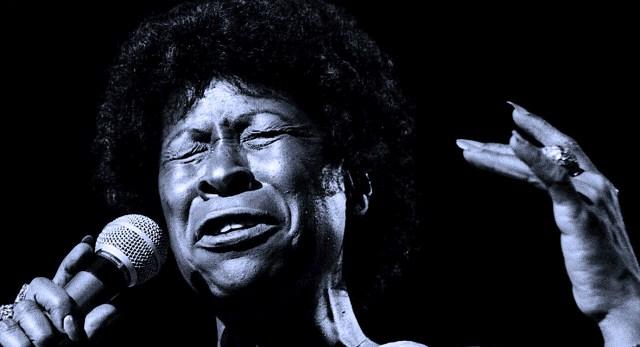 Betty Carter - Live In Paris 1976 - Photo: Enrique Vinuela