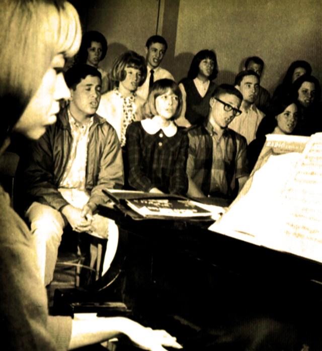 Choir Rehearsal - 1969